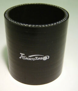 4 inch Turbo Silicone Intercooler Connector....Black