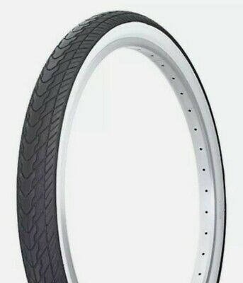 """Bicycle Tire Duro 26/"""" x 1.50/"""" Black//Gum Side Wall Lowrider Cruiser  50 PSI"""