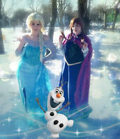 Princess Birthday Parties Elsa Anna FROZEN, RAPUNZEL, PETER PAN,