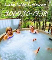 Perfect for your next party! Rent a Rotospa hot tub!