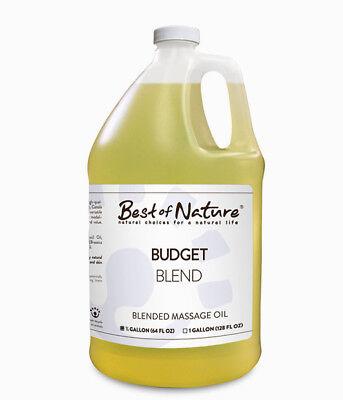 Best Of Nature Budget Blend Massage & Body Oil - Half Gallon (64 Ounces)