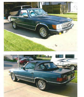 1984 Mercedes-Benz SL-500 Coupe (2 door) 2-Tops Mint! RARE!