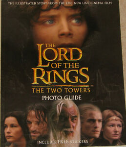 Lord of the Rings Book Two Towers Photo Guide Book London Ontario image 1