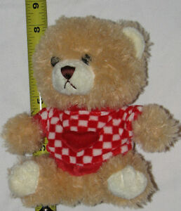 Teddy Bear in Red Heart Top Plush Stuffed Toy London Ontario image 1