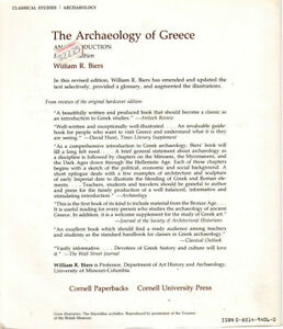 The Archeology of Greece - William Biers West Island Greater Montréal image 2