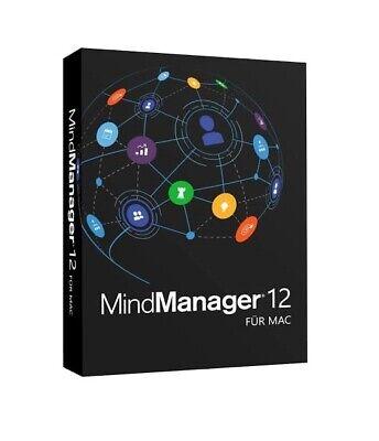 Mindjet MindManager 12 für Mac Deutsche Version - Lifetime Lizenzcode - SOFORT