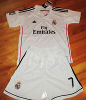 Jersey soccer + Short REAL MADRID 2015 - RONALDO - HOME - KIDS