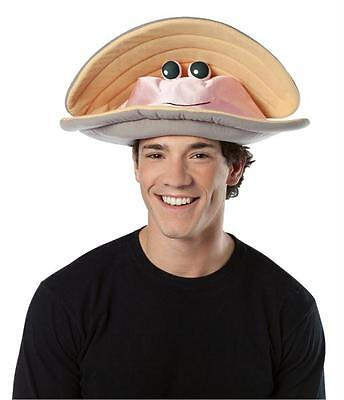 ADULT CLAM HAT SEAFOOD FESTIVAL COSTUME ACCESSORY - Clam Hat