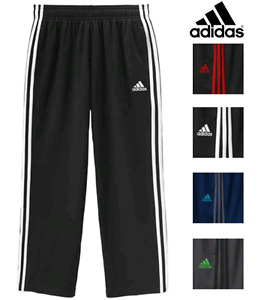 Fleece lined Adidas track pants MENS (2 black pairs)