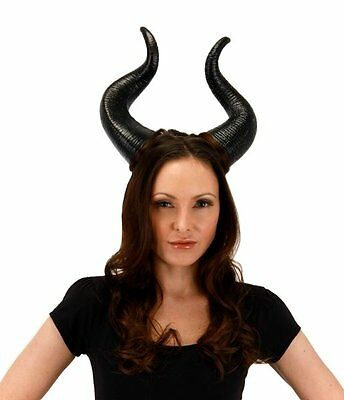 Walt Disney's Maleficent Movie Deluxe Horns Licensed Costume Accessory SEALED