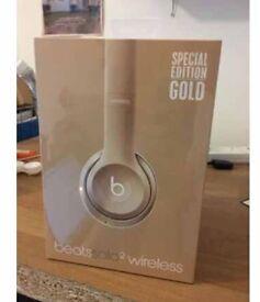 Brand new gold Beats Headphones