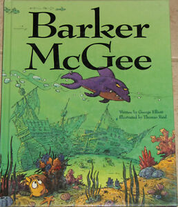 Barker McGee Large Hard Cover Childrens Book