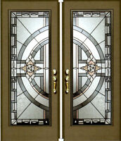 Wholesale Stained Glass & Wrought Iron Door Inserts