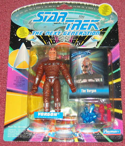 Star Trek Next Generation - Vorgon figure IN PACKAGE (Playmates)