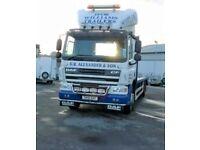 DAF FA CF65 Flatbed Truck / Lorry