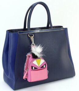 Authentic new Fendi monster backpack charm