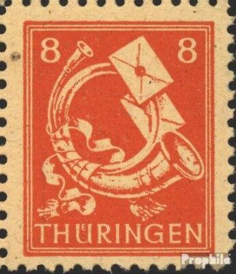 Sovjet Zone (Allied.Cast.) 96II, fractionele Trechter links (Veld 4) postfris 19