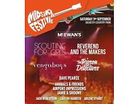 Midstock Festival Tickets - Dalkeith Country Park, 3rd September