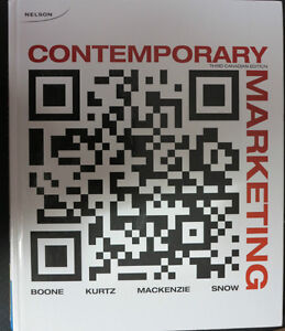 *** Contemporary Marketing 3rd canadian edition BOONE