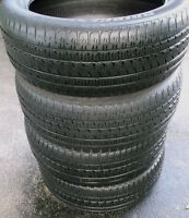 285 45 22 - BRIDGESTONE ALENZA - ALL SEASON TIRES - SET OF 4