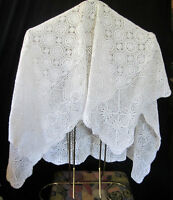 "Excellent Delicate Hand Crocheted 45"" Table Cloth Peterborough Peterborough Area Preview"