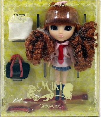 """Jun Planning Groove LP-411 LITTLE PULLIP MIKI Doll 4.5"""" NIP mini"""