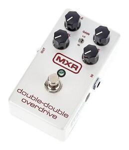M250 Double-Double Overdrive pedal MXR **open box  Pédale
