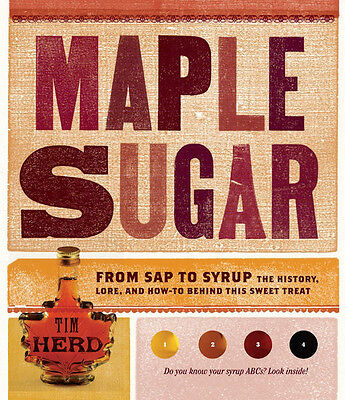 Maple Sugar From Sap To Syrup The History Lore And How-to Maple Syrup Book