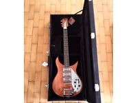 RICKENBACKER JETGLO COPY BY AFQ GUITARS