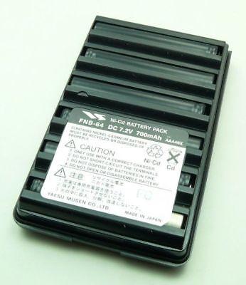 Yaesu Fnb 64  Battery For Yaesu Vx 150 Vx 160 Vx 170 Vx 120 Vx 127