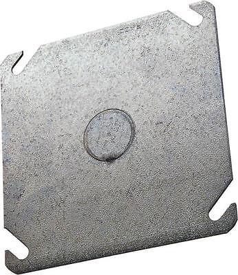New Lot 10 Raco 8753 Metal 4 Blank Flat Ko Electrical Box Covers 6151385
