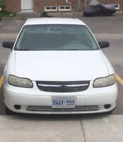 02 Chevy Malibu Etested & Safetied! Great first car!! Low KMS!