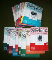 57 1940s stamp collecting magazines