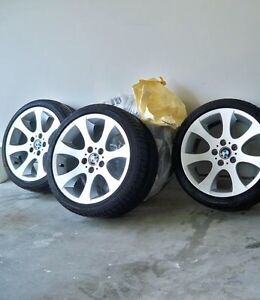 """BMW 18"""" Style 162 Original factory Wheels with Tires"""