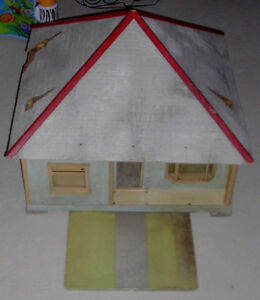 1940 1950 Doll House Builders Sample Cool Antique Old Neat