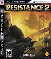 RESISTANCE 2 FOR SONY PS3
