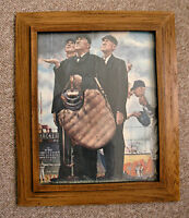 Umpiring Picture by Norman Rockwell