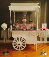 Candy Cart, banquet or wedding reception!