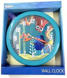 DISNEY PIXAR FINDING DORY 10 WALL CLOCK HANGING DECOR TURQUOISE BLUE KIDS ROOM