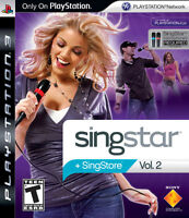 Sing Star Volume 2 + Mic for PS3