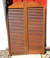 Antique Mahogany Batwing Doors/ Saloon Doors