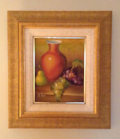 Golden Frame Painting (Fruits)