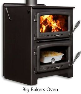 Bakers Oven Wood Cook Stoves - Two Models - Sale *Up to 30% off