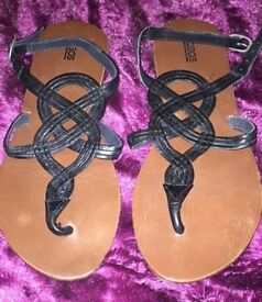Asos size 3 flats / sandals / shoes great summer & holidays etc