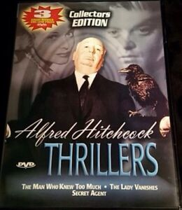 3 Great Sealed Alfred Hitchcock Movie's. $5 For All 3 Movie's.