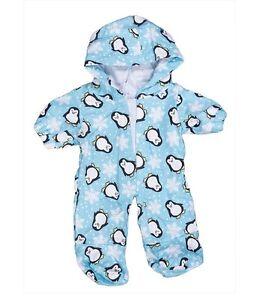 Penguin onesie hoodie pyjamas pjs teddy clothes fit 15
