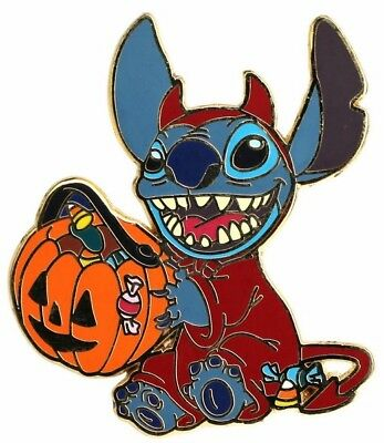 2005 Disney Stitch in Halloween Devil Costume Pin N2