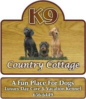 K9 COUNTRY COTTAGE, Luxury Daycare & Vacation Kennel