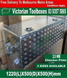 1220mm long top open toolbox