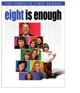 """Brand New- Still Sealed- """"Eight Is Enough"""" DVD Complete Season 1"""